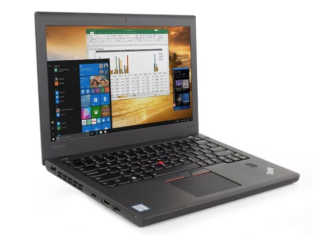 "Lenovo Thinkpad x270 12"" Laptop, 2.4GHz Intel i5 Dual Core Gen 6, 8GB RAM, 256GB SSD, Windows 10 Professional 64 Bit (Renewed) for $489"