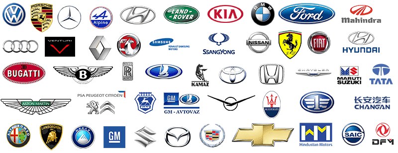 A Complete List of All Car Brands in One Place!