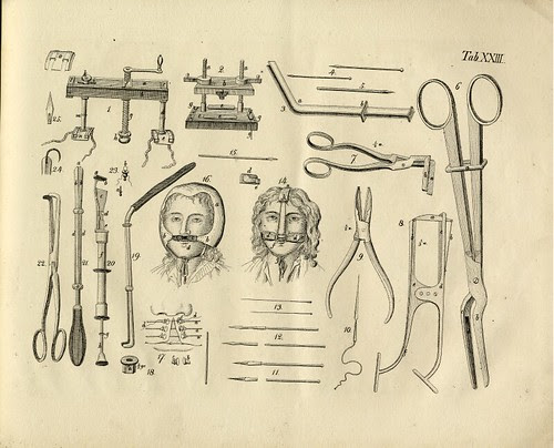vintage surgical equipment