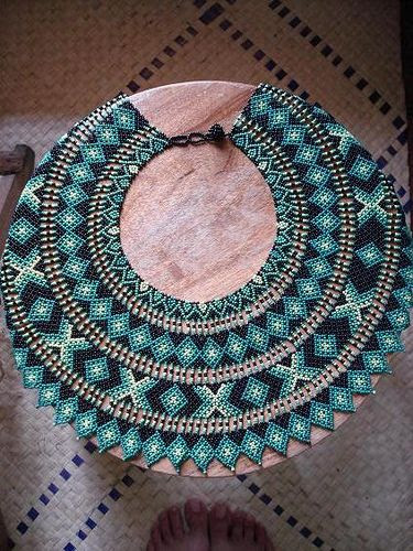 Collar Saraguros Grande by pacificdaphne, via Flickr
