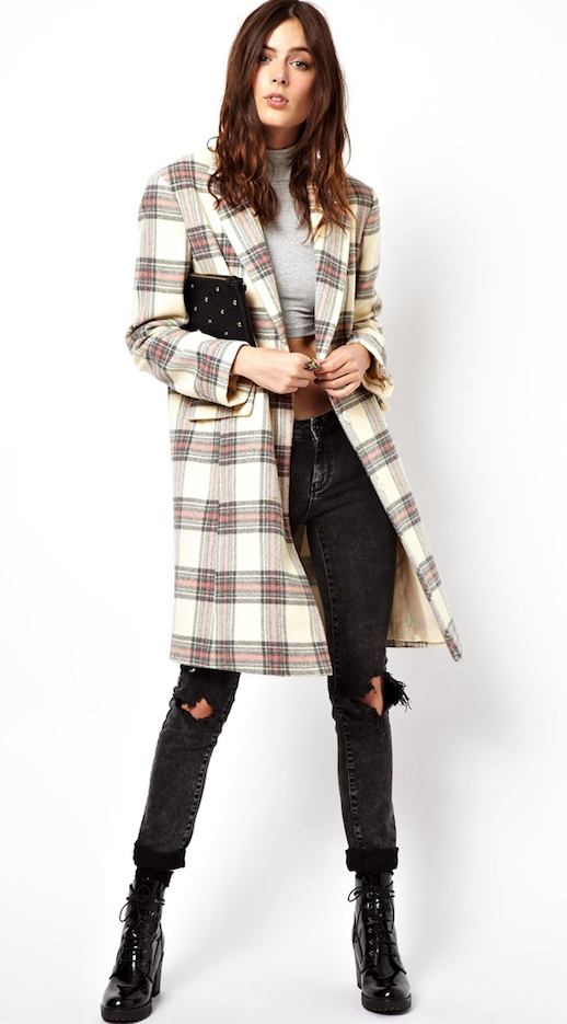 LE FASHION BLOG TARTAN CHECK COAT ASOS HOLIDAY SALE GREY GRAY CROPPED CROP TURTLENECK TOP RIPPED TORN BLACK DENIM SKINNY JEANS PATENT LACE UP BOOTS STELLA MCCARTNEY PLAID COAT AFFORDABLE ALTERNATIVE INSPIRED BLACK FRIDAY CYBER MONDAY SALE CODES 2 EDIT photo LEFASHIONBLOGTARTANCHECKCOATASOSHOLIDAYSALE2EDIT.png