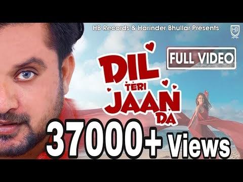Dil Teri Jaan da Lyrics - Anantpal Billa
