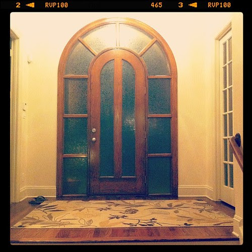 {Day 9: Front Door} from the inside