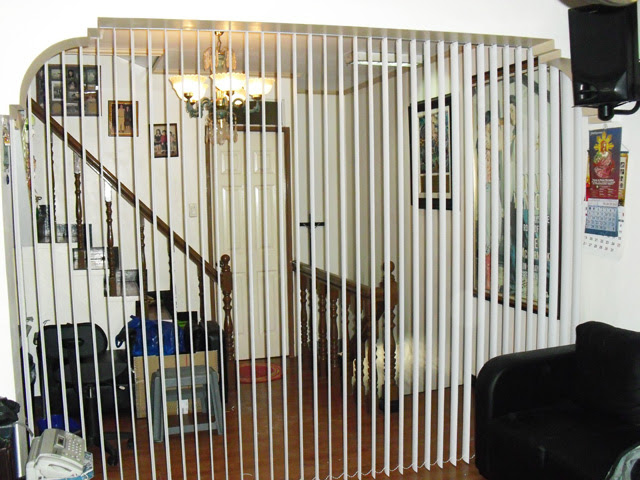 Pvc Vertical Blinds As A Room Partition In San Pablo City Laguna
