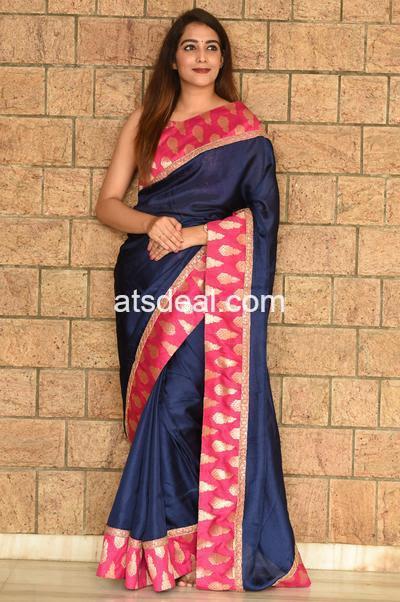 Designer Saree with zari work