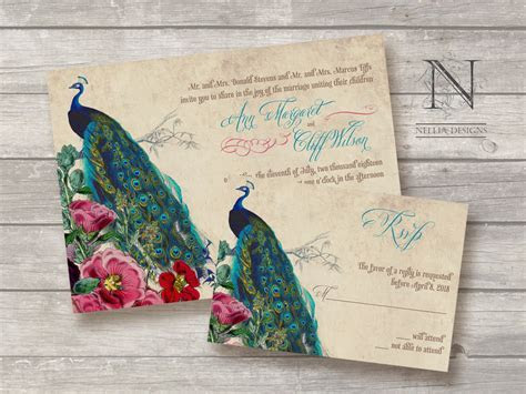 Great Ideas for the Busy Little Bride: Peacock Themed