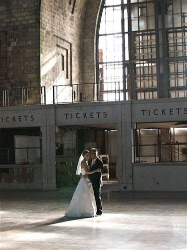 Central Terminal   Buffalo Wedding Venues for Brides in