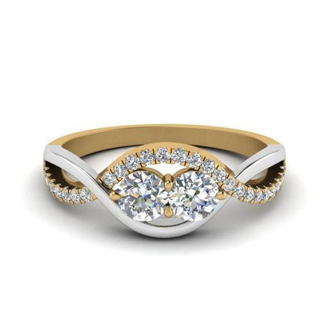 Two Stone Engagement Rings   Fascinating Diamonds