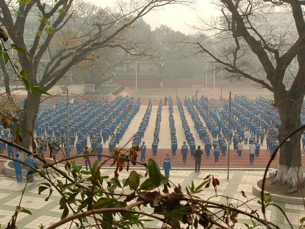 China 2004 - a high school