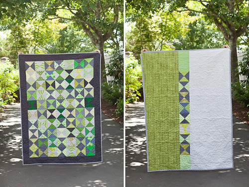 PEACE - Hourglass Quilt