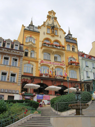Hotel Romance, Karlovy Vary (Carlsbad), Czech Republic.