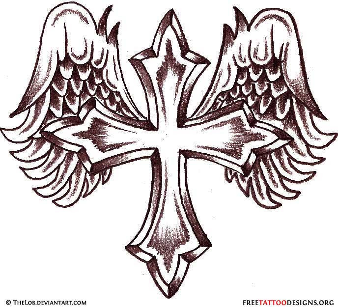 50 Cross Tattoos Tattoo Designs Of Holy Christian Celtic And