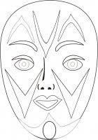 Maschere Veneziane Da Colorare Disegni Da Colorare Maschere Di