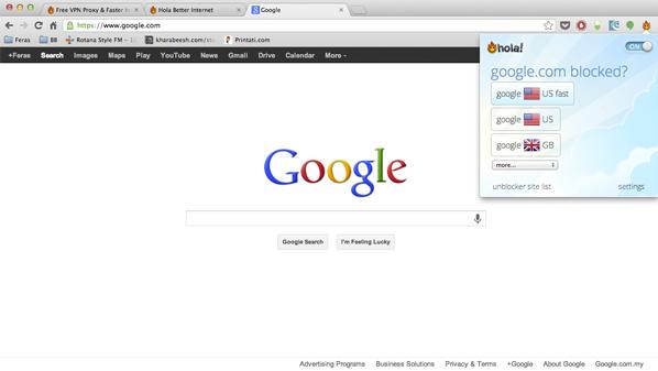 يوفّر برامج و إضافات للمتصفحات من أجل تصفح المواقع.