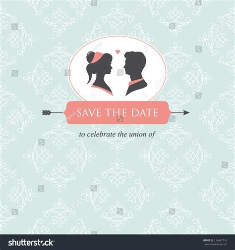 Wedding Invitation Card Template Editable Wedding Stock