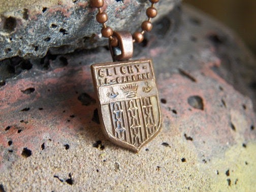 French Metal Necklace