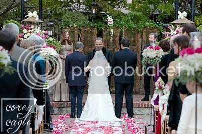 Deerpark wedding ceremony