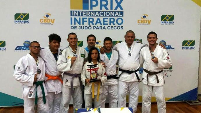 RN - judô Adevirn Arthur Cavalcante da Silva - Grand Prix de judô para cegos (Foto: Divulgação)