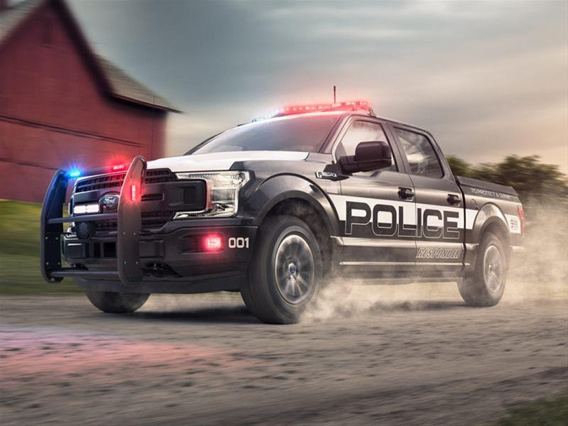 2019 ford f150 police responder xl 4x4 145 in wb for
