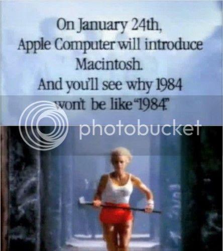 03 quang cao apple 1984 444x500 10 bài học marketing từ Steve Jobs