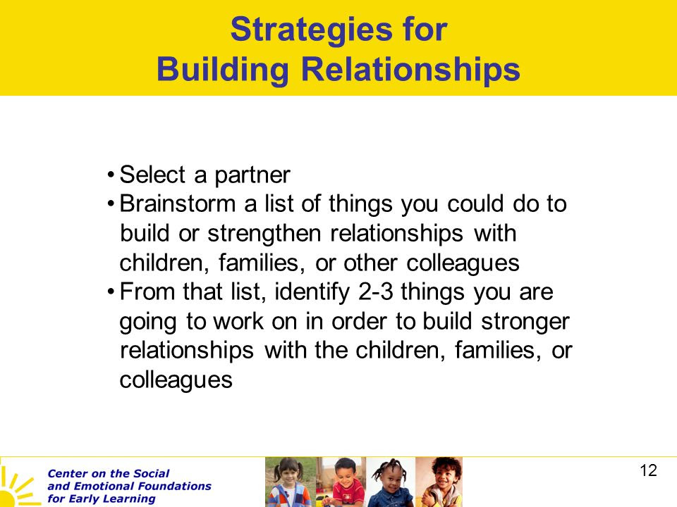 Building and Sustaining Positive Relationships in the Workplace