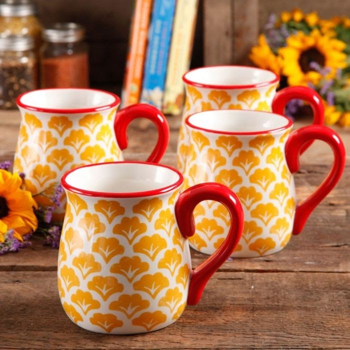 Pioneer Woman Cookware Mugs