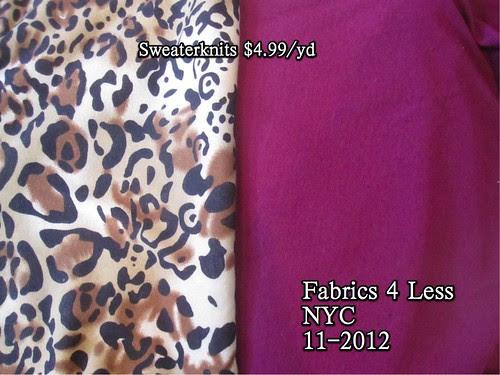 Fabrics 4 Less NYC 11-2012