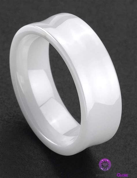 White Ceramic Wedding Bands for Men ? Top Jewelry Brands