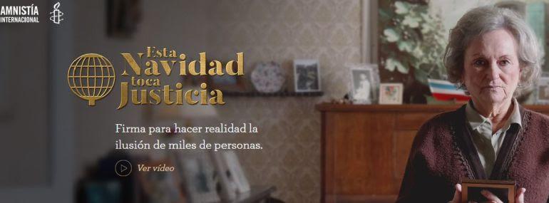 La historia del fusilado durante la Guerra Civil en Barcones Arsenio Martínez, en el spot de Navidad Amnistía Internacional