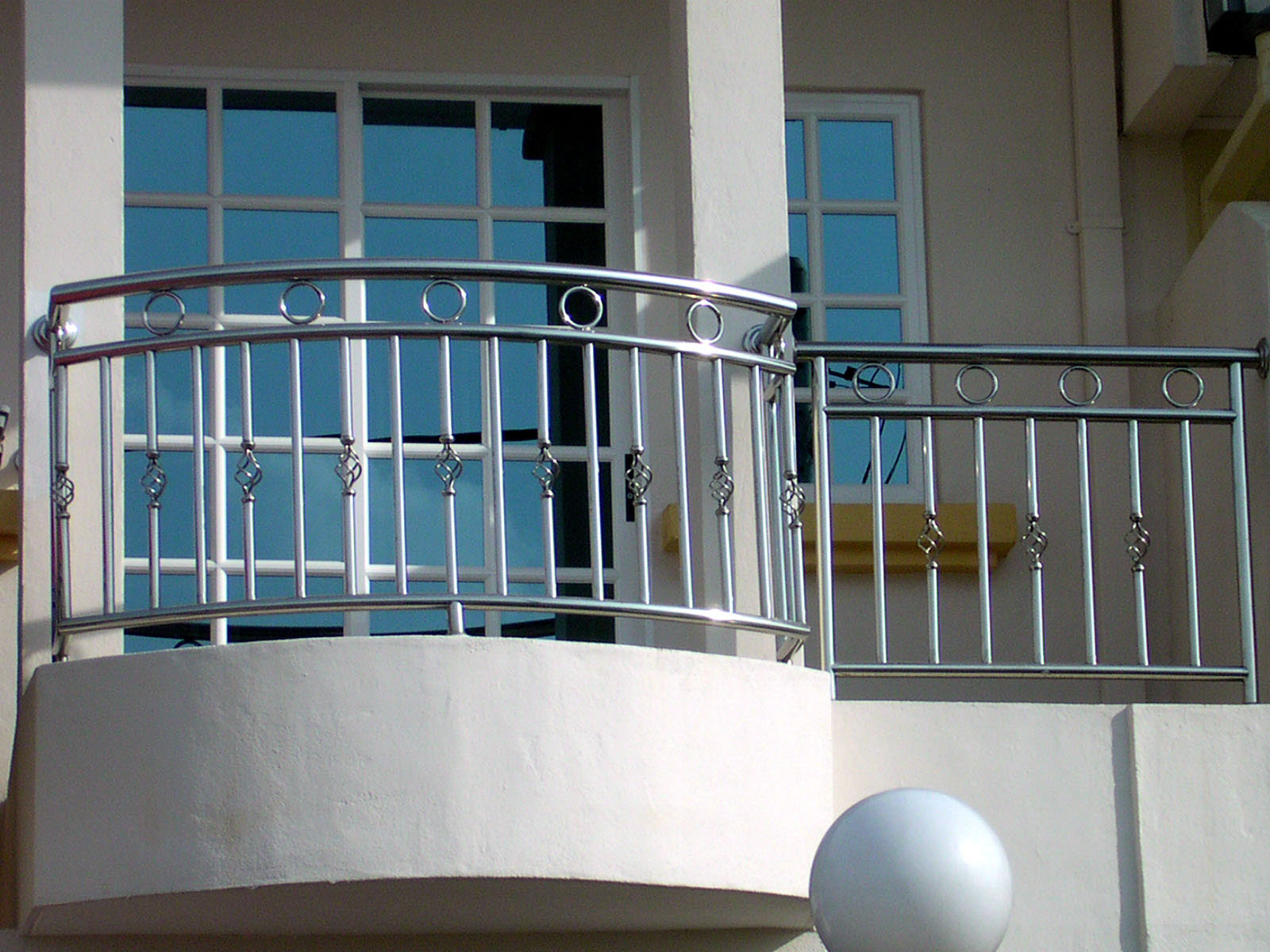 Fabulous Balcony Safety Grill Design For Iron Window Steel Railing
