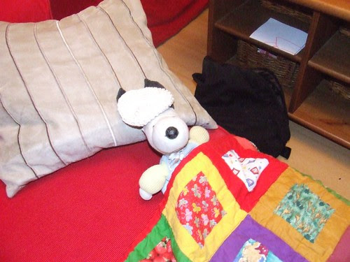 Snoopy under the weather
