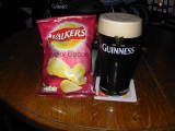 Guinness and Smokey Bacon Crisps