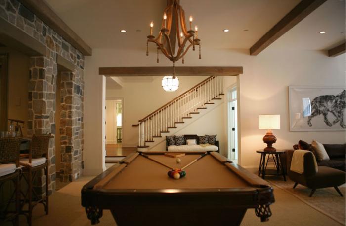 living space basement remodel 2