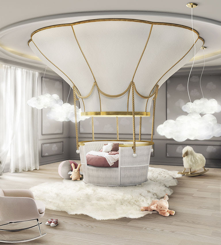 Hot Air Balloon Beds : bed design for kids