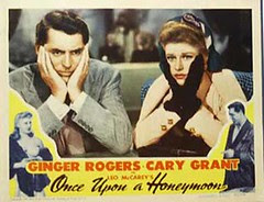 Once Upon A Honeymoon (1942) Card