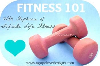 fitness 101 round button