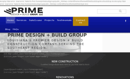 Primebuildgroupcom Website Home