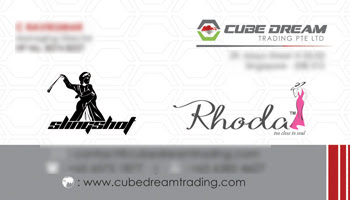 Business Card - Cube Dream Trading Pte Ltd