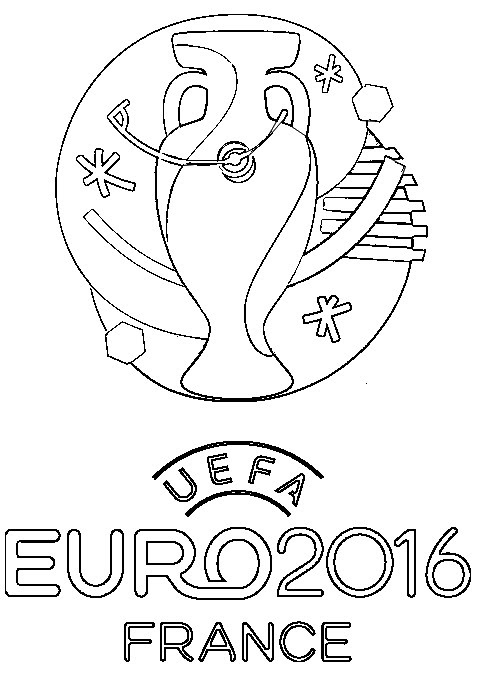 Coloring Pages Uefa Euro 2016 Morning Kids