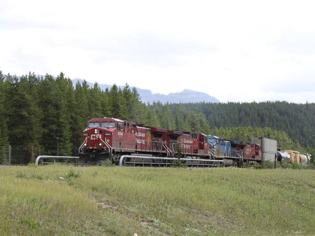 CP 9808 in Lake Louise