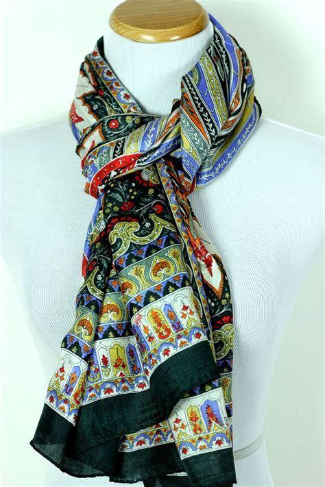 Women's Exotic Silk Scarf  Banarsi Designs