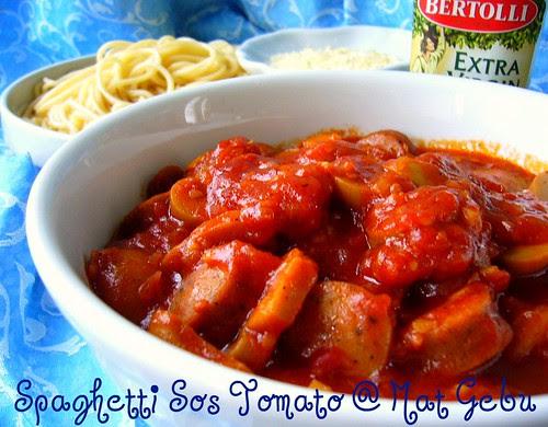 Spaghetti Sos Tomato