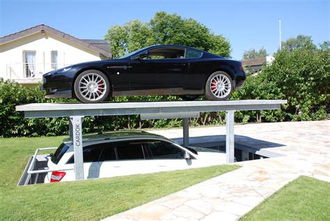 innovative space saving underground home parking solutions