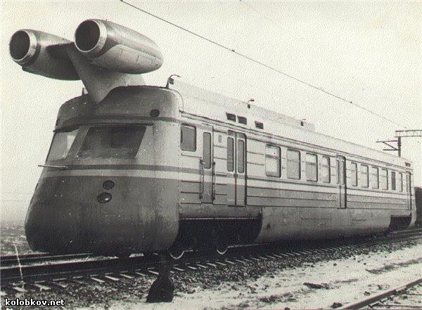 Trem a Jato Russo SLV - 1970
