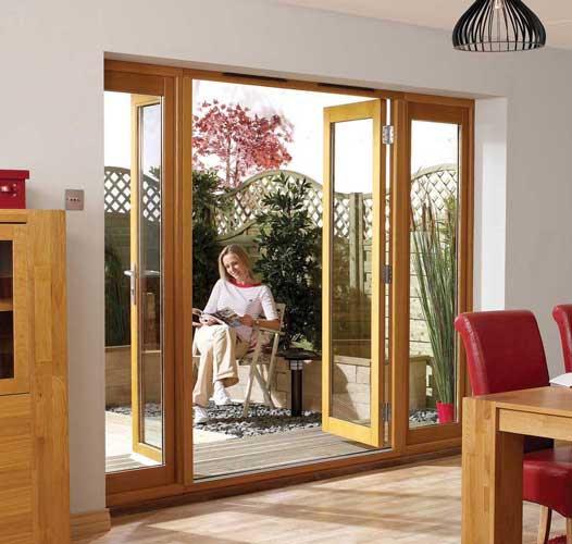 Exterior Oak Door