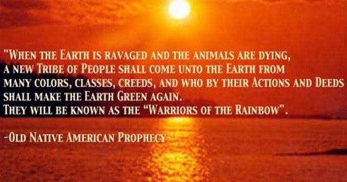 προφητεία των πολεμιστών του ουράνιου τόξου