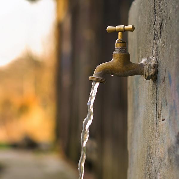 Resultado de imagem para agua nas torneiras