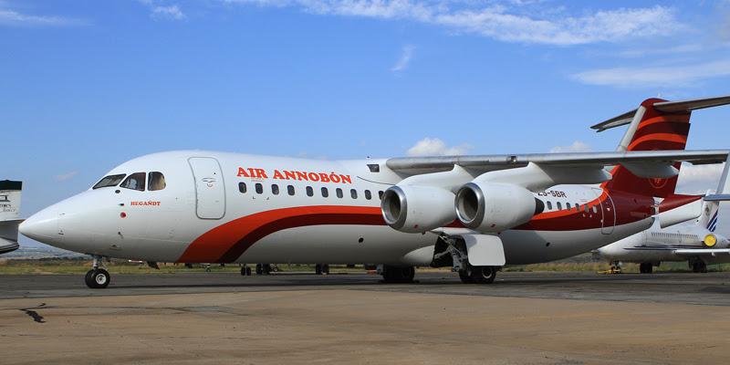 Air Annobòn's BAe146-300