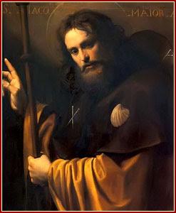 SANTIAGO EL MAYOR, Apóstol y Mártir