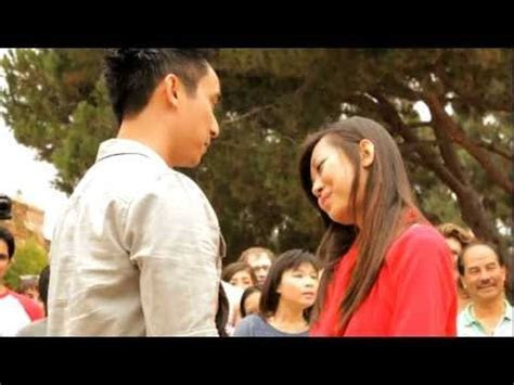 Flash Mob Marriage Proposal At UCLA Campus   CY@CY Says